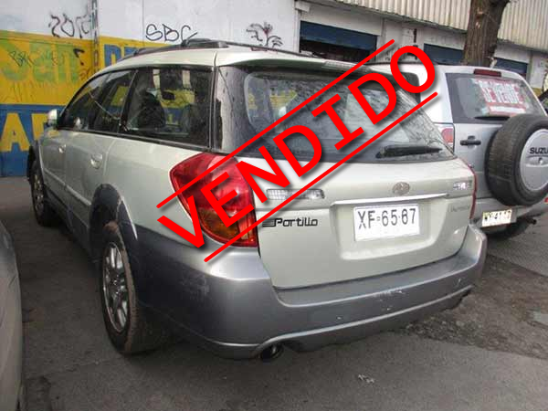 Subaru New Outback 2004 - 3
