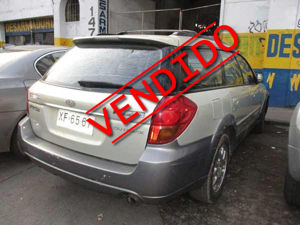 Subaru New Outback 2004 - 4